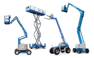 genie scissor lift and boom lift