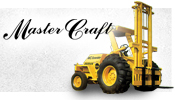 master craft rough terrain forklift